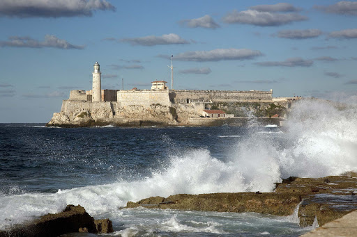 Morro Castle (Castillo de los Tres Reyes Magos del Morro, named after the three biblical Magi) is a fortress guarding the entrance to Havana Bay, Cuba.