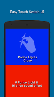 Police Siren and Lights Simulation - náhled