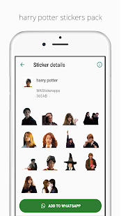 Harry Potter WAStickerApps Screenshot