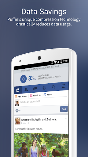 Puffin for Facebook 7.7.2.30541 screenshots 1