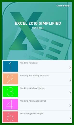 Learn Excel 2010 Tutorial