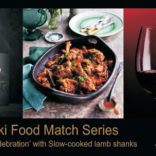 Slow cooked Lamb Shanks with Matariki 2007 Taurus 'A Celebration'