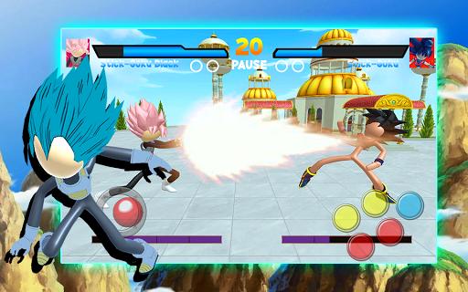 Capturas de pantalla de Stick Super Battle War Warrior Dragon Shadow Fight 2