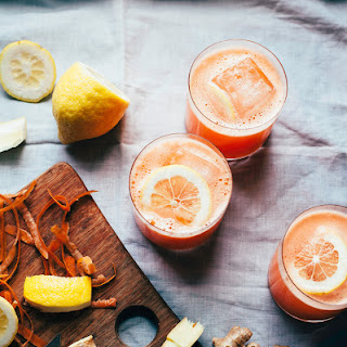CARROT GINGER LEMONADE.