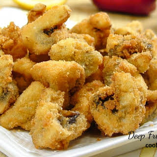 Fried Mushrooms With Dipping Sauce Recipes.
