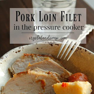 How to Cook Pork Loin Filet in the Pressure Cooker.