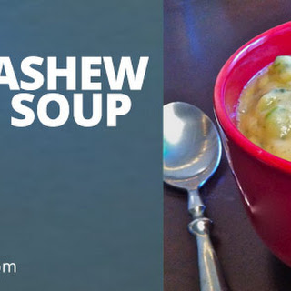 Creamy Cashew Broccoli Soup