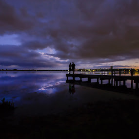 Lake by Jack Goras - Landscapes Waterscapes