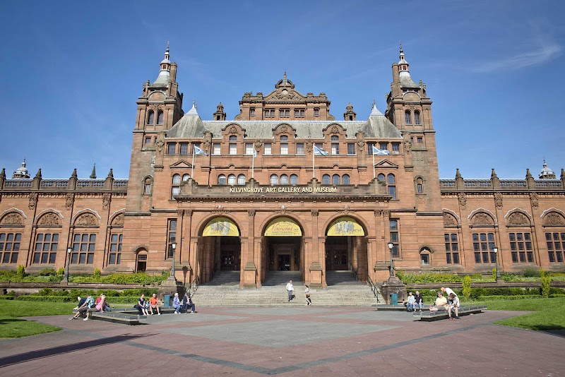 The Kelvingrove Art Gallery and Museum in Glasgow, Scotland, boasts an impressive collection of art, historical artifacts and natural history.