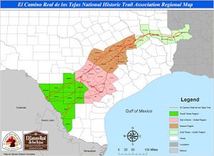 Photo: El Camino map with regions