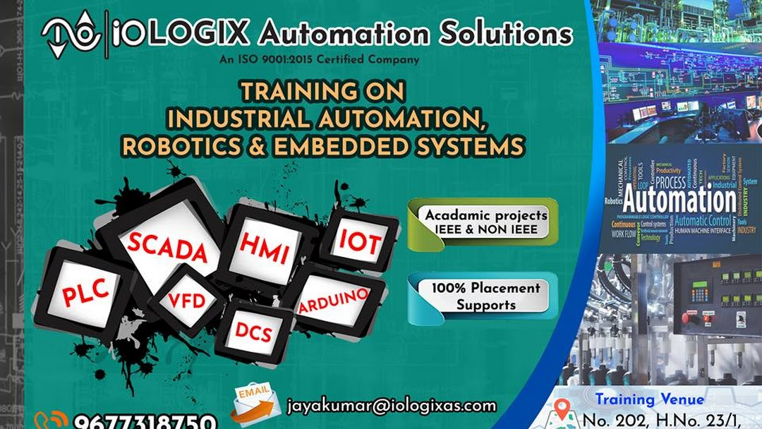 IOLOGIX AUTOMATION SOLUTIONS | PLC Scada LabVIEW Training in