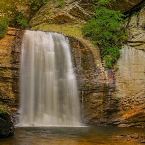 I can absolutley get chills just gazing at the beauty God has given us. This is God inspired and created, I just hope I can capture  some of the beauty He brings to me.  Looking Glass Falls  Pisgah National Forest by Keith-Lisa Bell Bell - Landscapes Waterscapes ( water, waterfalls, looking glass, forest, rocks )