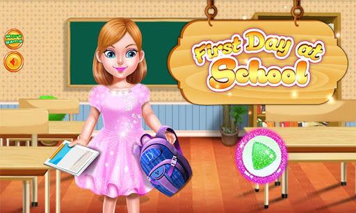 学校の日の教育ゲーム