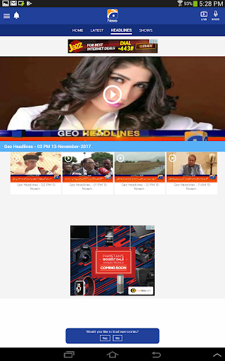 Geo News 6.6 screenshots 10