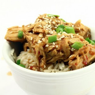 Crockpot Sweet Thai Chili Sesame Chicken