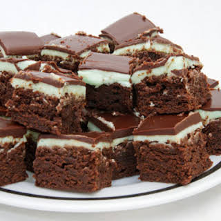 Alpine Mint Brownies.