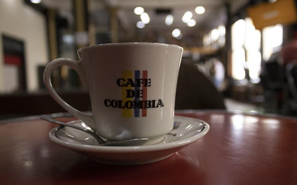cup of colombian coffee
