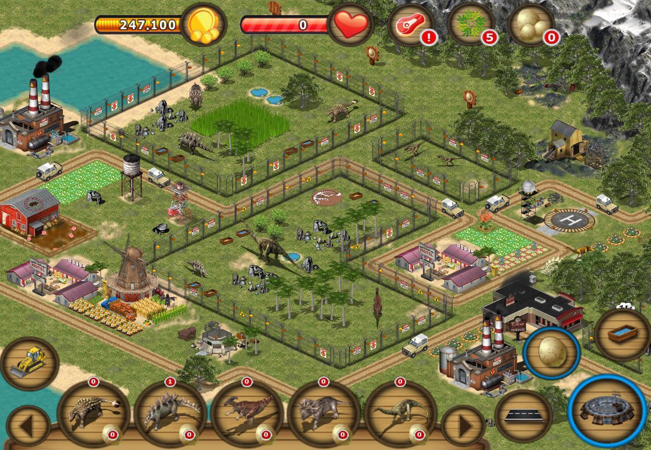 jurassic island game