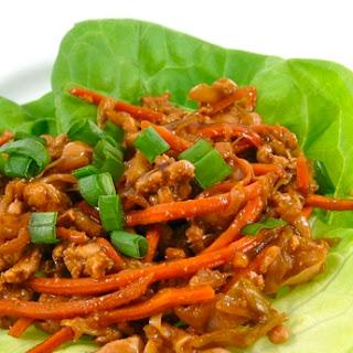 Skinny Mu Shu Lettuce Wraps