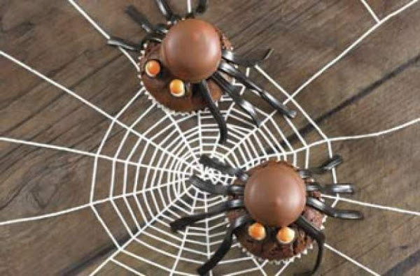 Annabel Karmel's Chocolate Spider Cakes Recipe