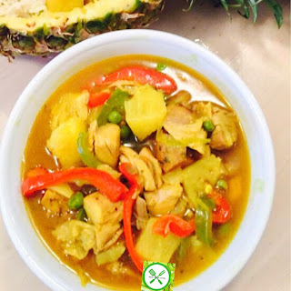 Pineapple Chicken Curry.