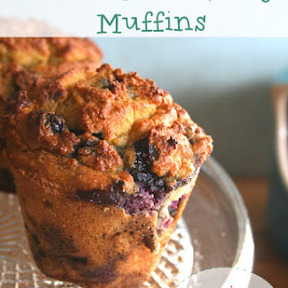 Lemon & Blueberry Coconut Flour Muffins