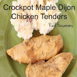 Crockpot Maple Dijon Chicken Tenders.