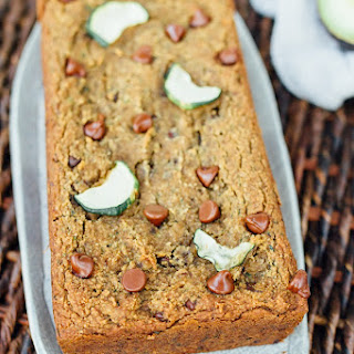 Vegan Almond Flour Zucchini Bread.