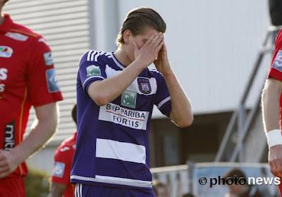 Anderlecht coule encore à Ostende après une prestation indigne d'un prétendant au titre