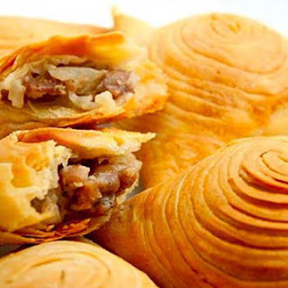 Samosa Pies With Meat