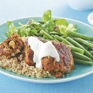 Curried Beef and Chickpea Patties.