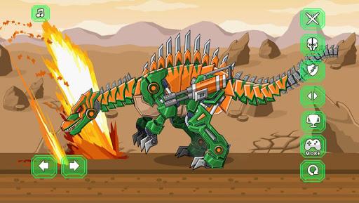 玩免費教育APP|下載Assemble Robot War Spinosaurus app不用錢|硬是要APP