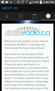 DanceRadio.ca- screenshot thumbnail
