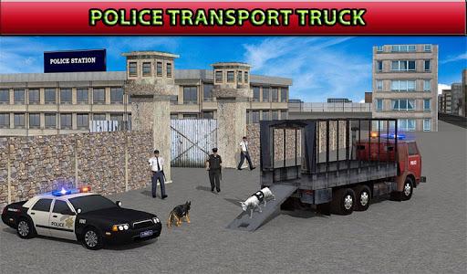 玩模擬App|警察犬の輸送免費|APP試玩