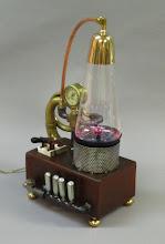 Photo: Plasma Lamp -steampunk