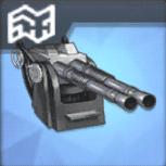 QF 2ポンド二連装ポンポン砲T3