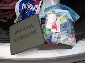 Photo: The #GRAIL geocache.