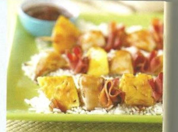 Chicken-pineapple Kabobs Recipe