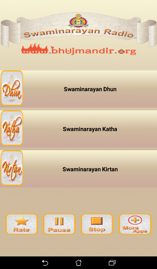 Swaminarayan Radio- screenshot