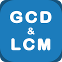 GCD and LCM Calculator + How to find icon