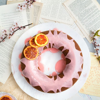 Orange Sour Cream Bundt Cake.
