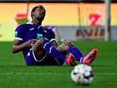 Amir Murillo blesseerde zich tijdens de wedstrijd tegen Waasland-Beveren