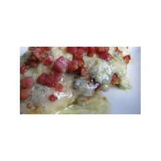 Gorgonzola Smothered Chicken With Pancetta