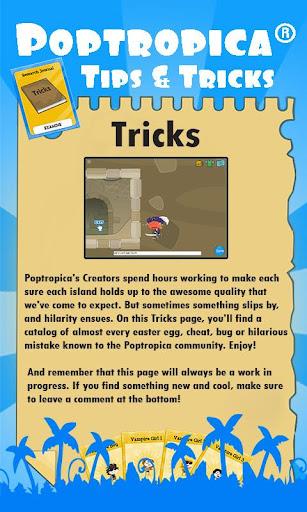 Poptropica® Tips Tricks