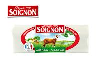 Angebot für SOIGNON Ziegen-Weichkäse-Rolle mild & frisch im Supermarkt