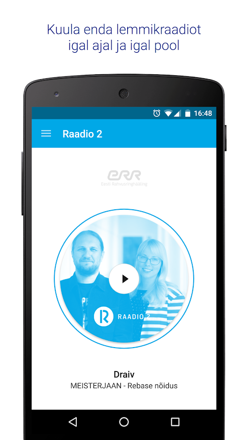 Raadio2- screenshot