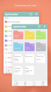 SomNote – Beautiful note app 6