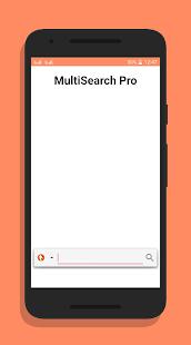 Multi Search Pro - náhled