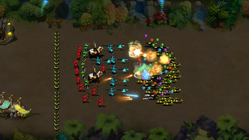 StickMan Defense War - Empire Hero & Tower Defense android2mod screenshots 1