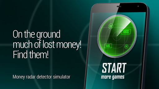 Money Detector Radar Simulator